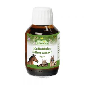 Kolloidales Silberwasser 50 ppm | Maul & Atemwege | Pferdekraeuter.ch