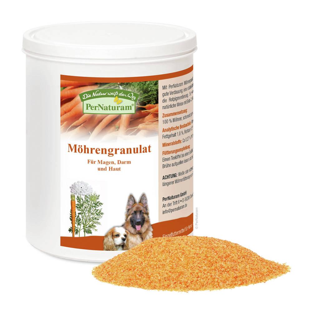 Möhrengranulat | Basis für die Ernährung | Pferdekraeuter.ch